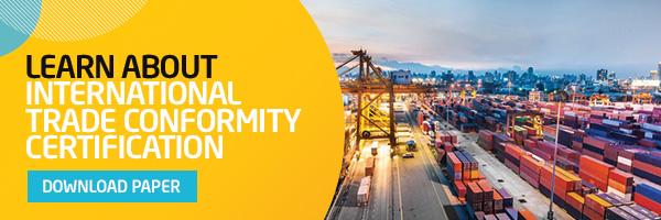 International Trade Conformity Certification
