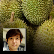 Durian Tested for Degree of Ripeness