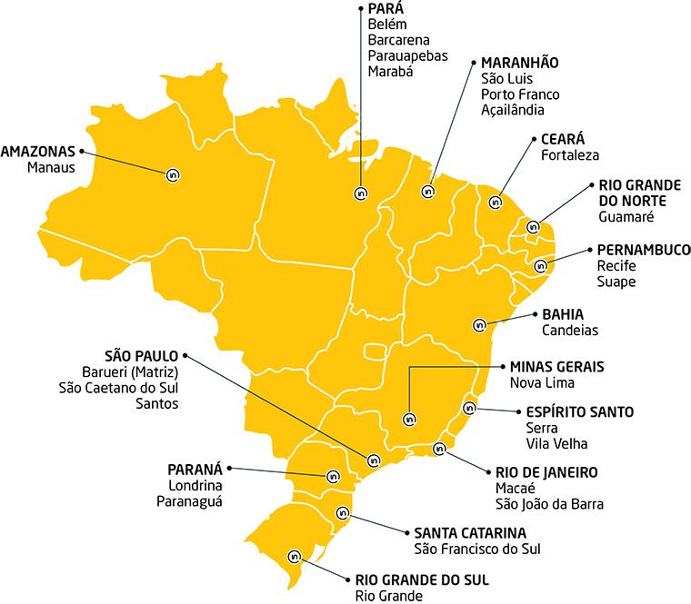 Mapa Brazil