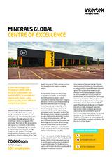 Minerals CoE Fact Sheet