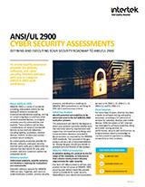 ANSI/UL 2900 Factsheet